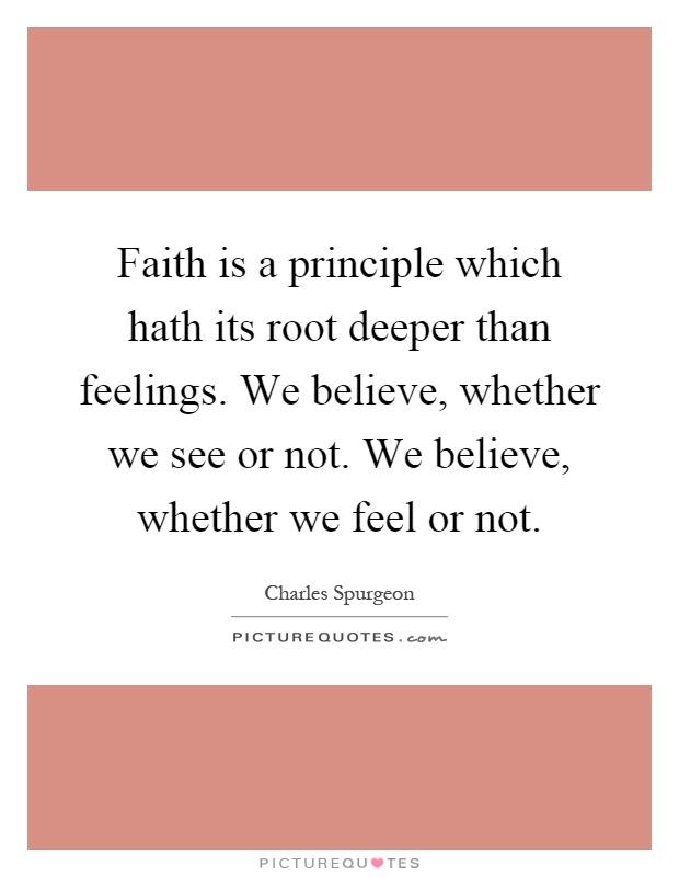 faithoverfeelings